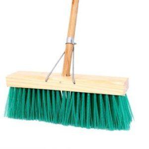 Budget Broom Soft Bristle